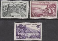 France #907-09 mint Landscape set 1959 cv $33
