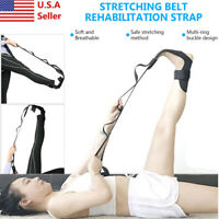 Yoga Ligament Stretching Belt Strap Leg Training Foot Ankle Joint Correct Braces