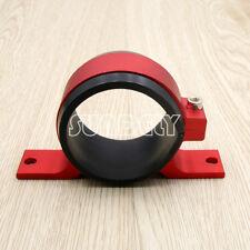 60mm Fuel Filter Bracket Mount Clamp Fits Bosch 044 Pump Billet Aluminum Red