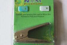 Micro sim Card CUTTER + ADAPTER microsim iPhone 4 Karte