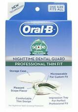 New listing Oral-B Nighttime Dental Guard Less Than 3-Minutes for Custom Teeth Grinding
