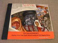 Tschaikowsky Symphony #4 in F Minor RCA Red Seal DM-880 5-Record Set w/Stokowski