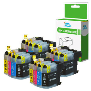 Compatible 16 Ink Cartridge for Brother LC123 MFC-J6520DW MFC-J6720DW