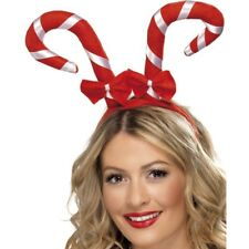 Christmas Fancy Dress Accessory Candy Cane Headband