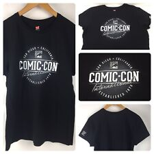 San Diego California Comic Con Inter... Established Women's Black T Shirt Large