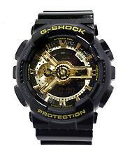 Casio GA110GB-1A G-Shock X-Large Gold Black best seller Men Watch NEW