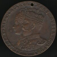 1911 George V & Queen Mary Consort Coronation Medal | Pennies2Pounds