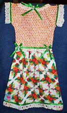 *NEW* Handmade Tropical Hibiscus Flowers Oven Door Dress Kitchen Hand Towel #641