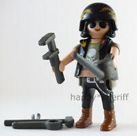 Playmobil Motorcycle Rider Biker Mechanic with Tools Mystery Series 13 9332 NEW
