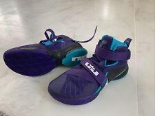 Size 12 - Nike LeBron Soldier Purple And Cyan