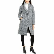 ALFANI NEW Women's Boucle Coat Jacket Top TEDO