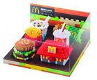 Authentic McDonald's Food Icons x Nanoblock Set of 6 with Display Box