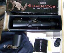 Burris Eliminator Laser Rangefinding Rifle Scope 4-12x 42mm Eliminator Reticle