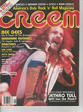 JUNE 1978 CREEM vintage music - rock and roll magazine - JETHRO TULL