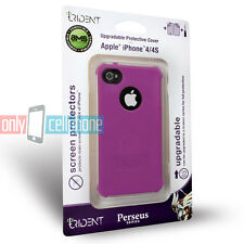 NEW Retail Trident Purple Perseus Silicone Gel Cover Case for Apple iPhone 4 4S