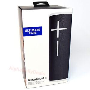 Ultimate Ears UE MEGABOOM 3 Bluetooth Wireless Portable Speaker Moon Black