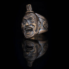 Captain Spaulding Ring, The Devil's Rejects, brass, handmade