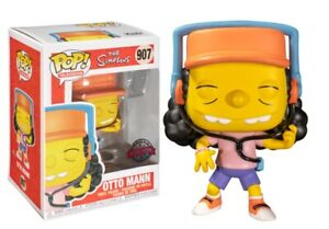 The Simpsons Otto Mann Pop! Funko television vinyl figure Special ed. n° 907