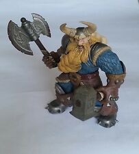 Warcraft 3 Muradin Bronzebeard 2002 Loose dwarf action figure blizzard