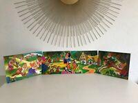🍄  Ancien Puzzle Frise Blanche Neige Walt Disney Jeu Nathan Vintage Année 1976