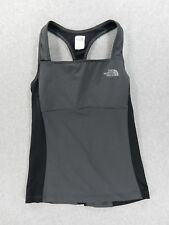 The North Face Fitness Running Yoga Tank With Bra (Womens Small) Black
