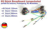 Jumper Kabel Steckbrücken für Arduino Raspberrypi 10p 10-30cm MM FM FF  /_Überw