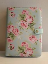 WEBSTER'S PAGES MINT FLORAL NOTEBOOK PLANNER ORGANIZER