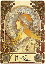 Alphonse Mucha | Zodiac | Vintage Poster | A1, A2, A3 Poster #2