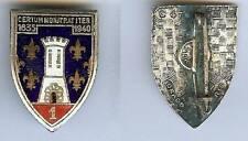 Cuirassiers -  1° Régiment cuirassiers émail 1 boléro Drago Paris