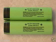 2 NEW PANASONIC NCR18650B LI-ION BATTERY 3400mAh 3.7v 18650  JAPAN w/ free case