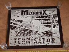 Original 1980s Surf & Street Mechanix John Parmenter Terminator Promo Ad Poster