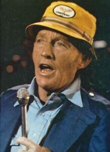 Bing Crosby 1977 GB Concert Tour Program Brochure Ticket Stub 28 Page Livre Rare