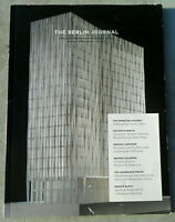 The BERLIN JOURNAL Magazine from The American Academy in Berlin, #27, Fall 2014
