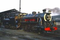 PHOTO  SOUTH AFRICAN RAILWAYS - CLASS S2 0-8-0 SHUNTING LOCOS WERE BUILT BY KRUP