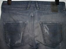 Diesel belther regular slim-tapered fit jeans blue eyecons 0828T W32 L32 (a2275)