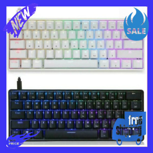 New Mechanical Keyboard Gaming Backlit Gk61 USB Wired Keys RGB Switch Key Led