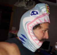 Halloween Costume Adult Shark Ski Mask Overhead