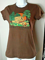 Juicy Couture T Shirt Vintage Camp Juicy Size Medium Original Juicy Brown Shirt