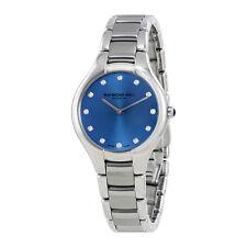 Raymond Weil Noemia  Blue Dial Diamond Ladies Watch 5132-ST-50081