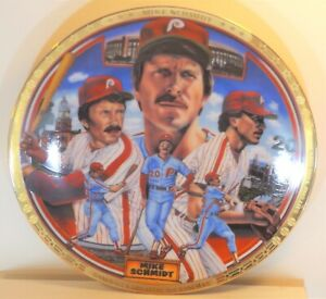 "MIKE SCHMIDT -1994 Sports Impressions ""Greatest..."" 8.5"" Ltd Ed Plate #104/7500"
