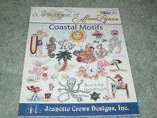 "NEW RARE A SMIDGEN OF ALMA LYNNE ""COASTAL MOTIFS"" CROSS STITCH BOOK 1999 CUTE"