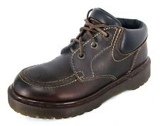Dr. Doc Martens Boots UK 5 US 7 Womens Brown Leather Airware 8458 England Shoes