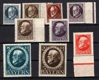 P135619/ BAYERN, OLD GERMANY – YEARS 1914 - 1915 MINT MNH / MH – CV 176 $