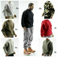 "1/6 Scale Male Capless Pullover Sweater Clothes Fit For 12"" Action Figure Body"