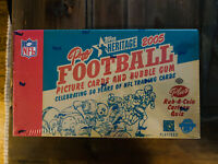2005 Topps Heritage Football Hobby Box Factory Sealed Aaron Rodgers Rookie ???