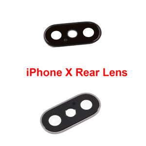 OEM SPEC Rear Camera Glass Lens Cover Frame Replacement For Apple iPhone X 10