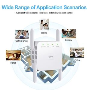 5Ghz WiFi Repeater High Quality Wireless WiFi Extender 1200Mbps Long Range