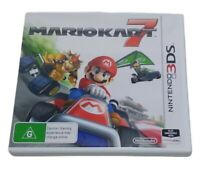 Mario Kart 7 Nintendo 3DS Console Game Racing PAL Excellent Condition 2011