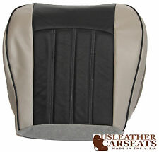 2006 Chrysler 200 300 Driver Side Bottom Leather Seat Cover 2 Tone Gray