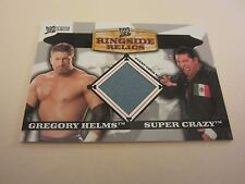 Gregory Helms/Super Crazy 2006 Topps Heritage II WWE Ringside Relics Doubles #HS